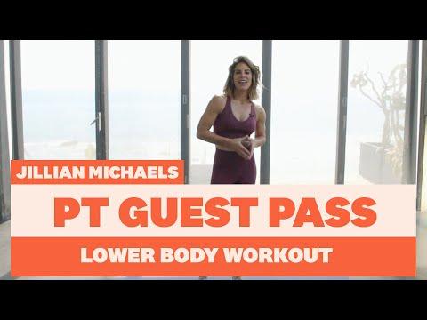 10 Minute Lower Body Workout with Celeb PT Jillian Michaels | Women's Health UK