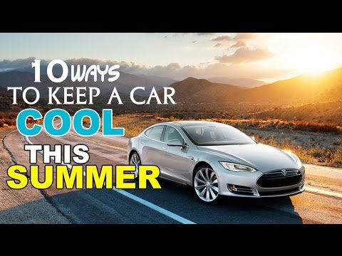 Good How To Keep Car Cool In Summer  10 Tips