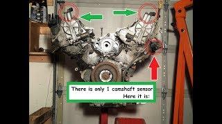 Graven Set of 3 Engine Cam Shaft Crankshaft Position Sensor CPS Set for Infiniti Nissan