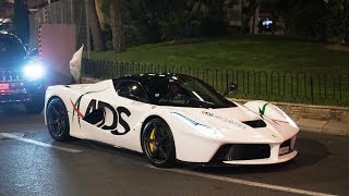 Supercars of Monaco 2017 - F1 WEEKEND DAY 3 - F40 Laferraris and more !