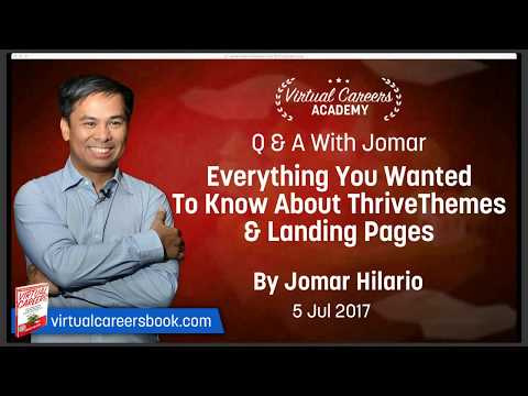 Q&A With Jomar: Everything You Wanted To Know About Thrive Themes & Landing Pages