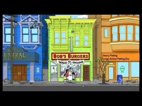 Bob's Bugers Intro Scene 0002 - Heavy Petting Large Animal Petting Zoo