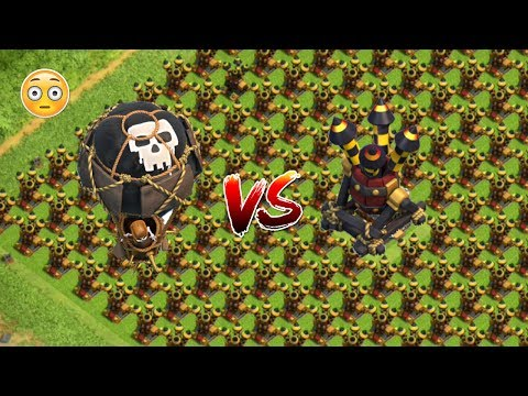 OMG! ✖ 999 MAX LEVEL BALLOONS  VS MAX LEVEL AIR DEFENSE | Attack On COC Private Server | HFX Gaming
