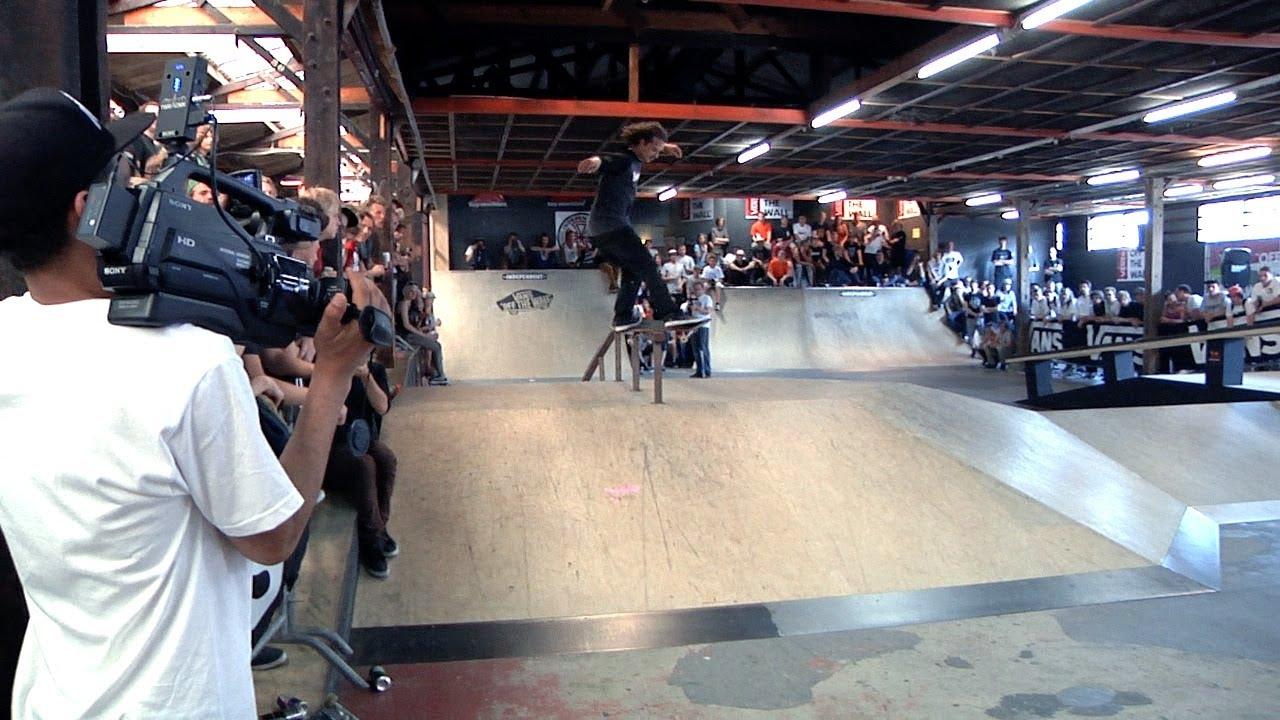 6a6277bd2ec Vans Shop Riot 2014 - Burnside NL - YouTube