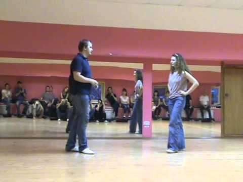 Sergey & Olga Lindy Hop classes 3 & 4 at Lindy Weekend 2013 Kirov