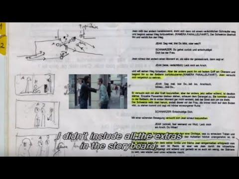 Michael Haneke on Storyboarding CODE UNKNOWN