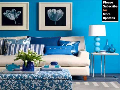 Blue Color Decoration