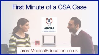 How to get your FIRST MINUTE right in the CSA Exam