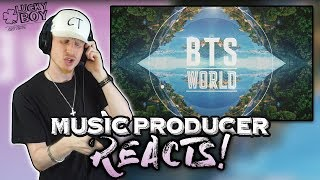 Gambar cover Music Producer Reacts to BTS - Heartbeat (BTS WORLD OST)
