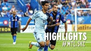 HIGHLIGHTS: Montreal Impact vs Sporting Kansas City   July 12, 2014