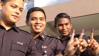 Police, army personnel kick off the PD polls