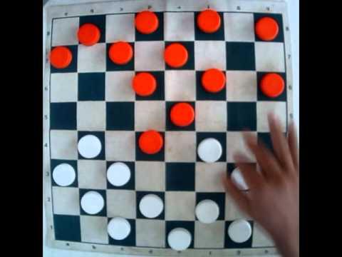 Jogo de damas - Abertura Ivanov Parte 1