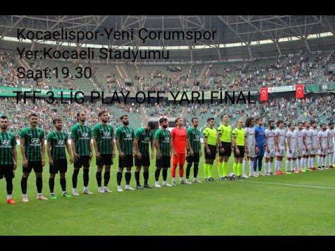 Kocaelispor 0-3 Yeni Çorumspor Tribün Klibi (Play Off 2. Maç)/(Amatör Çekim)   Emirhan Torlak