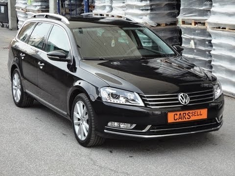 vw passat variant highline 2 0 tdi dsg youtube. Black Bedroom Furniture Sets. Home Design Ideas