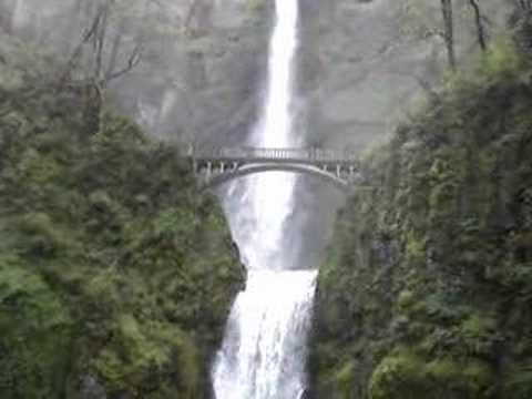 Portland Oregon Fall Had Wallpaper Multnomah Falls Oregon Usa Youtube