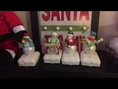 Hallmark Singing Snowmen Band !!!