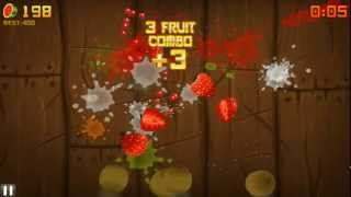 Fruit Ninja HD: Arcade Mode #1 - PC Gameplay | Daxter296Plays