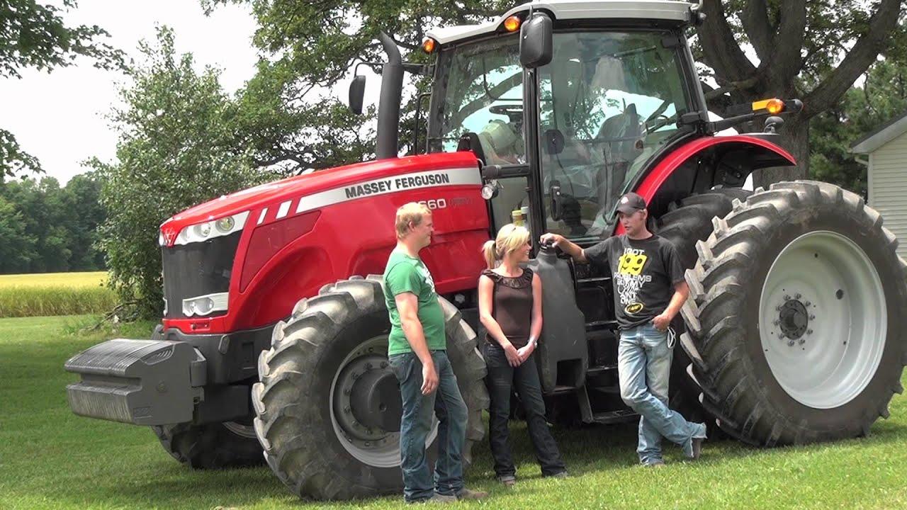 Massey Ferguson Girls : Massey ferguson across america plowing in ohio youtube