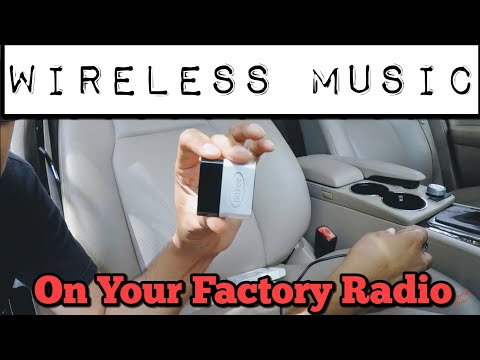 Add Bluetooth Music Streaming Your Factory Radio