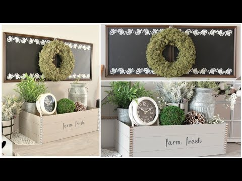 DOLLAR TREE FARMHOUSE DIYS 2019