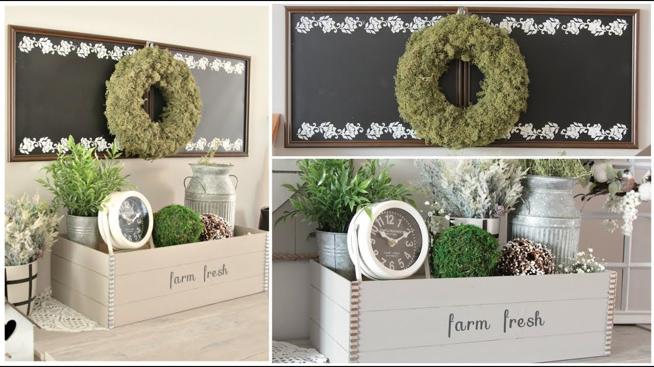 Dollar Tree Farmhouse Diys 2019 Youtube