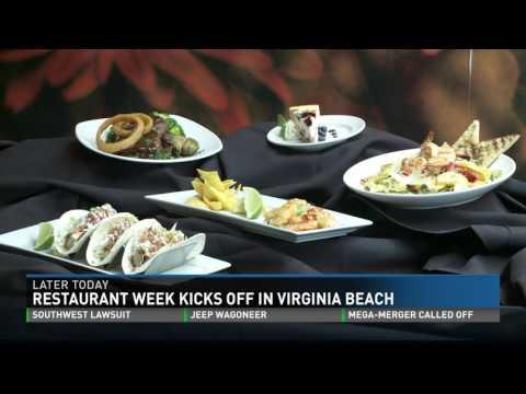 2017 Virginia Beach Restaurant Week