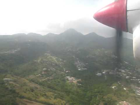 Landing at Bramble Montserrat August 2008