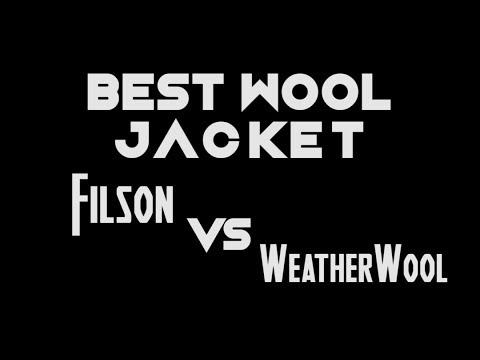 Filson Double Mackinaw VS WeatherWool All Around Jacket