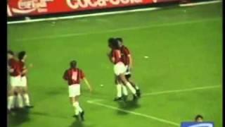 مباراة من الماضي - ميلان 5 - 0 ريال مدريد - ابطال اوروبا 1989