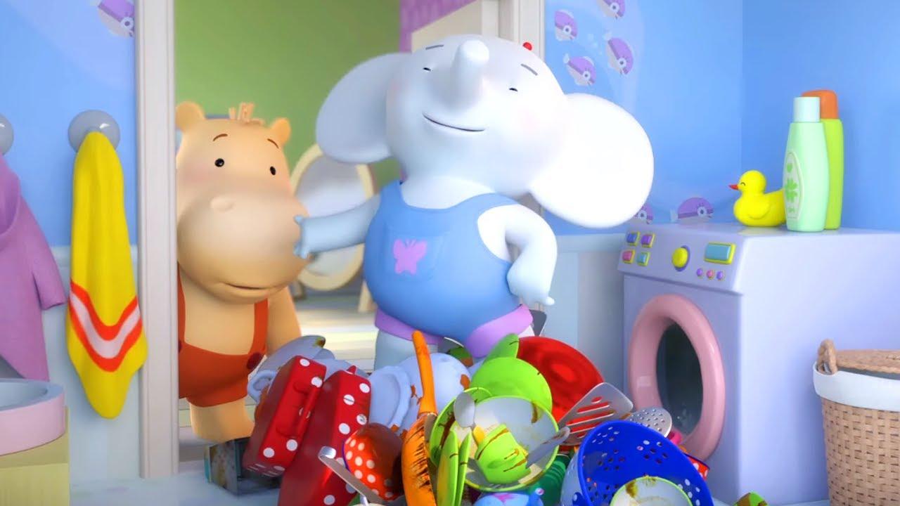 🪁 Тима и Тома – Серия 3 – Посуда  🍽️ | Новый приключенческий мультик для детей