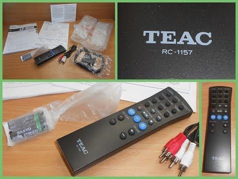 TEAC RC-1157 Original Audio System LP-R400 LP-R500 Remote Control/Remote 253