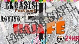 Banda Eloasis ao vivo em acaú (forró gospel)( música 24 horas de som e louvor)