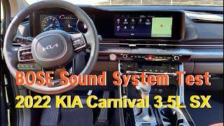 2022 Kia Carnival Bose Premium…