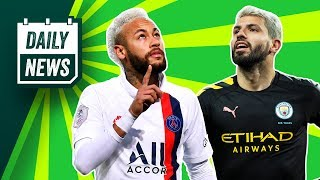 Man City to LOSE their players + PSG need Neymar! ► Daily News