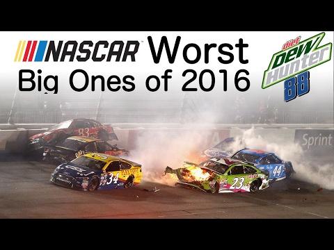NASCAR Worst Big Ones of 2016