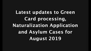 August 2019 Visa Bulletin Predictions EB3 Retrogression EB2