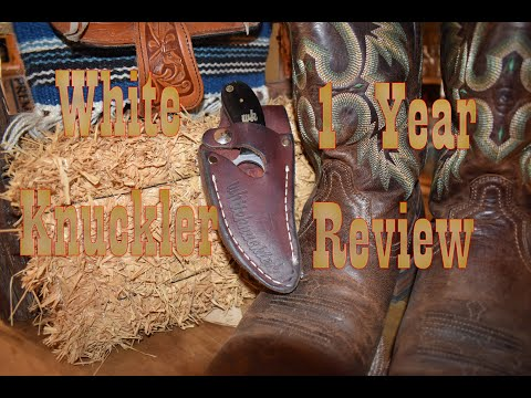 Whiteknuckler Knife 1 Year Review…The best knife for Truckers?