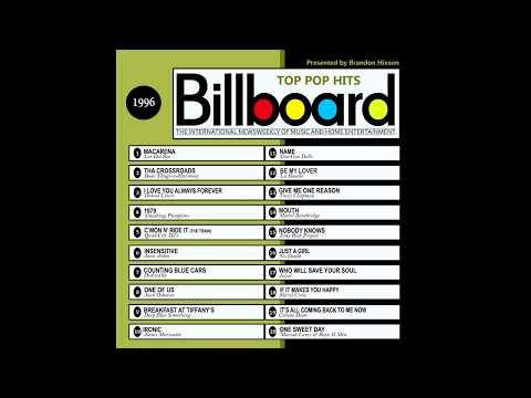 Billboard Top Pop Hits 1996 (2016 Full Album)