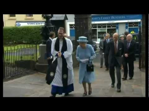 HM The Queen's Diamond Jubilee Tour - Northern Ireland - Day 1 - Evening News