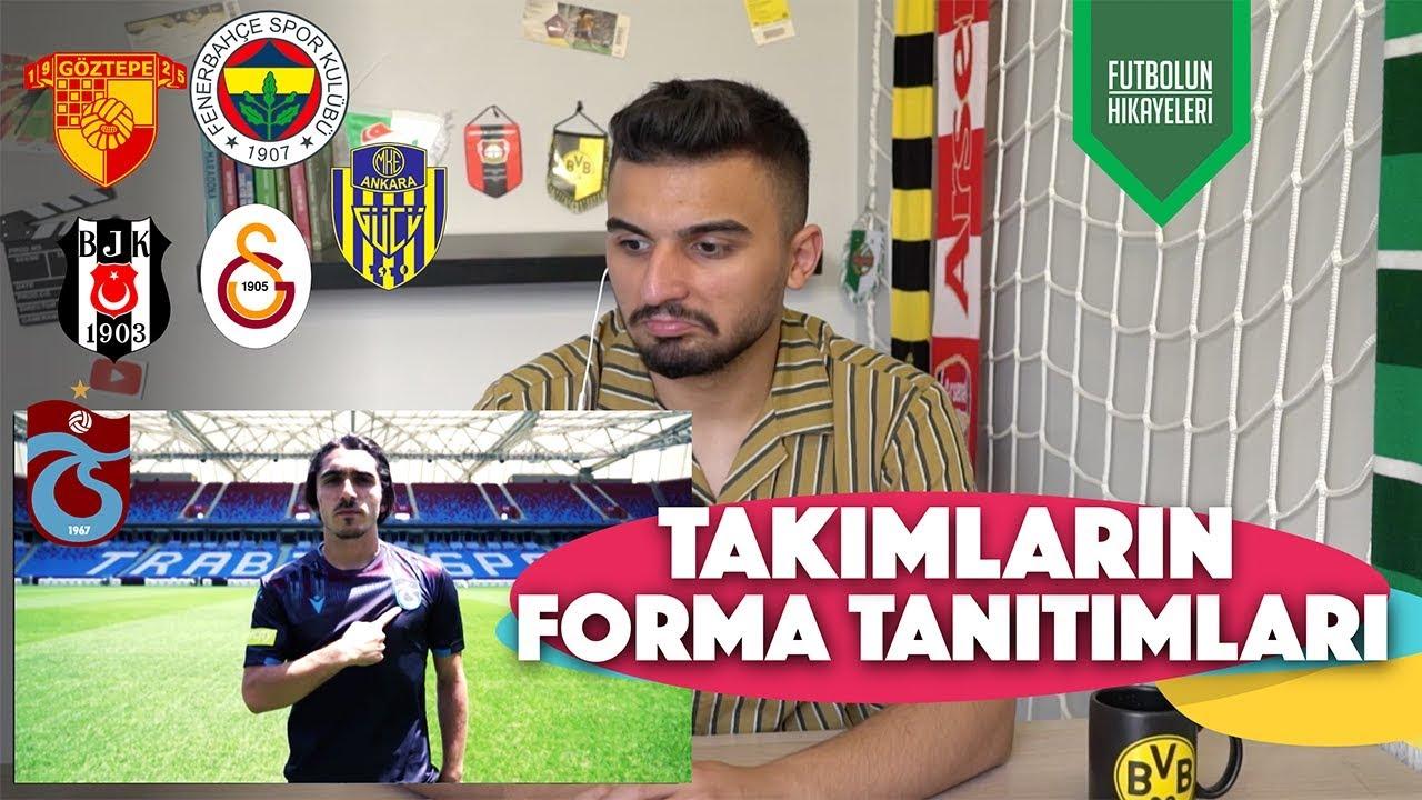 TÜRK TAKIMLARININ FORMA REKLAMLARINI İZLEDİK | Beşiktaş, Trabzonspor, FB, GS, Göztepe, A.gücü