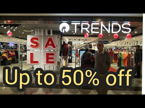 Reliance Trends Sale || Up To 50% Of On Selected Brand || Reliance Trends Ethnic Wear || Sale |