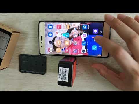 Long standby GPS tracker HB-A1 SMS/CALL alarm test Huabao GPS