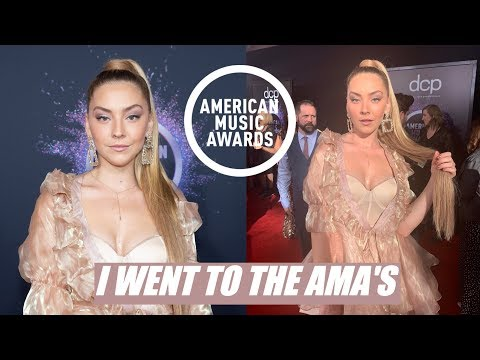 I went to the American Music Awards