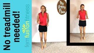 Build jogging endurance! Medium-Impact Indoor Cardio Workout