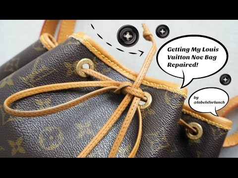Louis Vuitton Trash Bags louis vuitton noe handbag: repair and spa review! this vintage bag