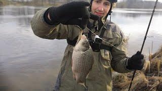 Караси на спиннинг в январе! Масло Джёнсонс Бейби рулит! Рыбалка в Беларуси на реке Свислочь 2020