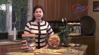Samira's Kitchen #154 Curry Onion Buns (أقراص برغل  بصل وكاري (برتوي تخراثةخلولة Olives Cheese Pizza