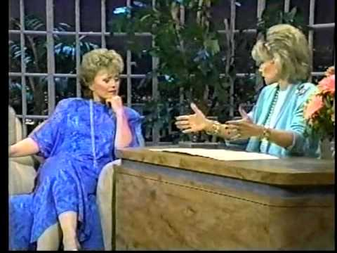 Rue McClanahan on Joan Rivers Show (1987 interview)