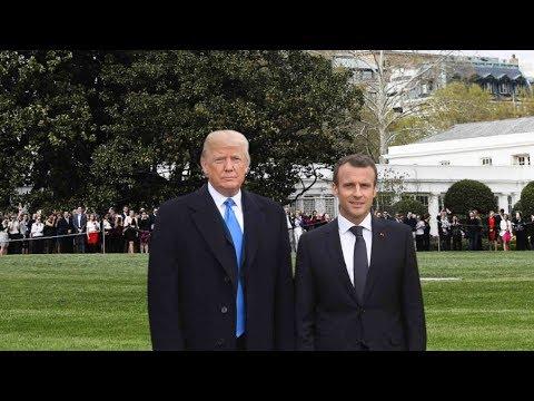 Macron to press Trump on Iran and trade