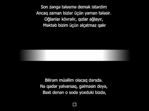 Ilqar Deniz ft Orxan Esqin Son Zeng 2014